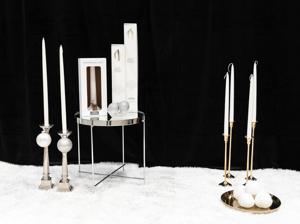 Six-pack antique candle (50cm)