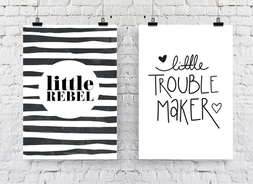 Little Rebell + Little Trouble Maker