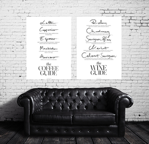 The Wine Guide + The Coffee Guide
