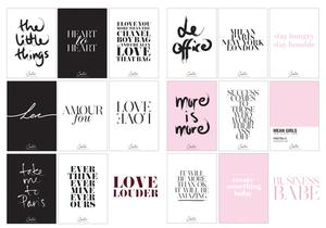 Love Louder Wallies + Business Babe Wallies