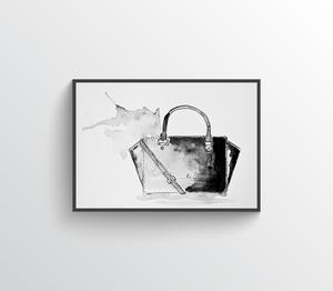 Handbag One Illustration