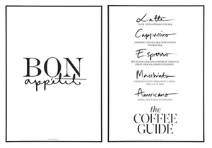 Bon Appétit + The Coffee Guide