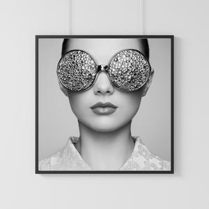 Women Glasses One Photo