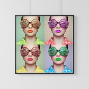 Women Glasses Four Photo