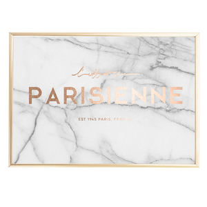 Parisienne Marble Faux Rose Gold