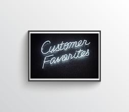 Neon customer favorites