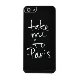 Take Me To Paris Noir iPhone Case 5/5s