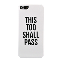 This Too Shall Pass iPhone Case 5/5s