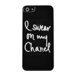 I Swear On My Chanel Noir iPhone 5/5s