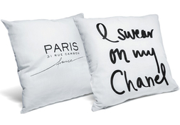 I Swear On My Chanel Pillow + Home Of Coco Pillow