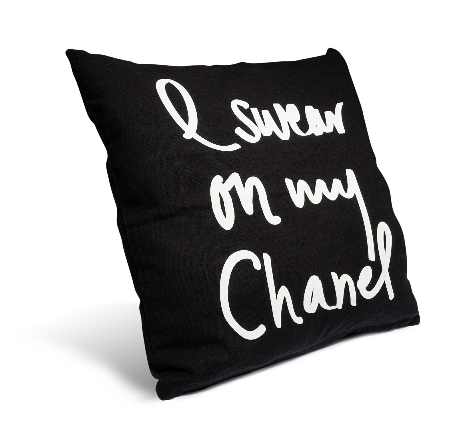 chanel pillow. click to enlarge image chanel pillow